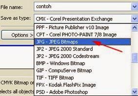 Merubah File CDR Ke JPG