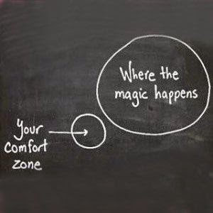 Dealing with your Comfort Zone