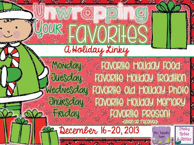 http://stickynotesandglitter.blogspot.com/2013/12/unwrapping-our-favorites-holiday-food.html