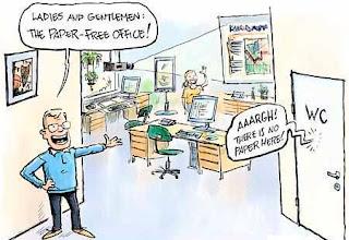 Posibles usos del papel en las oficinas