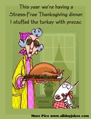 Daily Jokes: Stressfree Thanksgiving This year