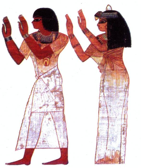 Ancient Egyptian Fashions Dover Fashion Coloring Book