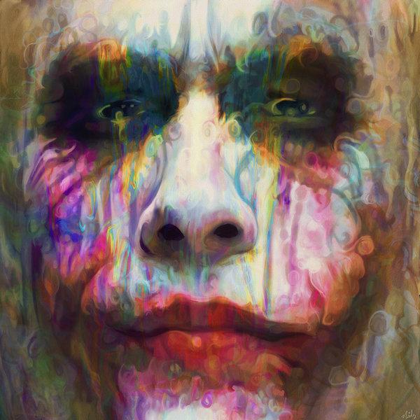 12-The-Joker-Heath-Ledger-Batman-Nicky-Barkla-Psychedelic-Celebrity-Portrait-Paintings-www-designstack-co