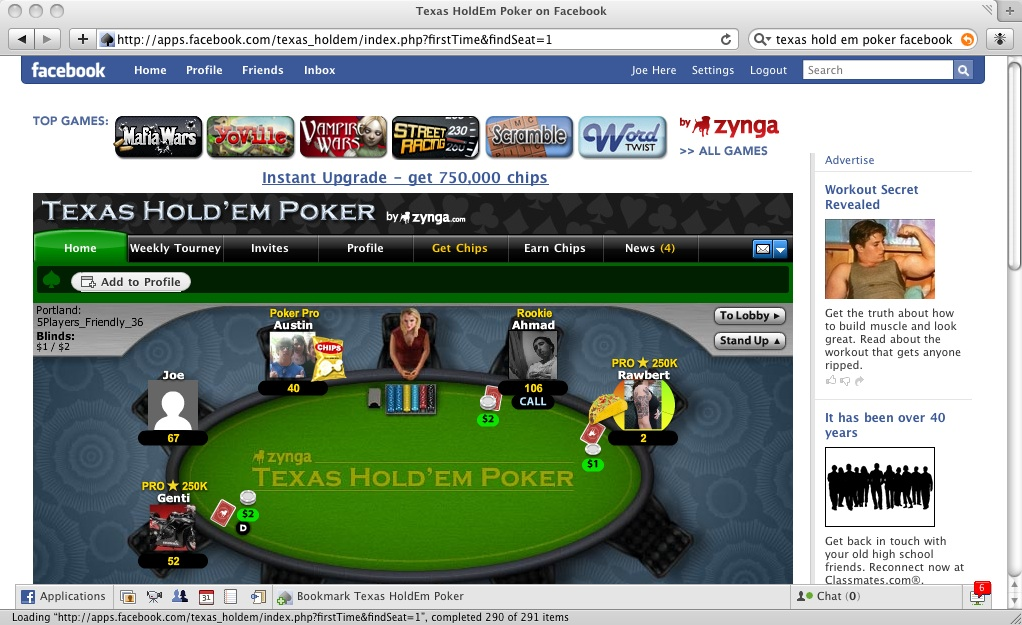 Cara main texas hold'em poker 3