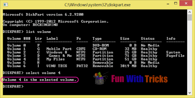 Hide Local Disk Drive Without Any Third Party Applications_FunWithTricks.Com