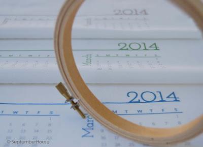 DIY calendars 2014