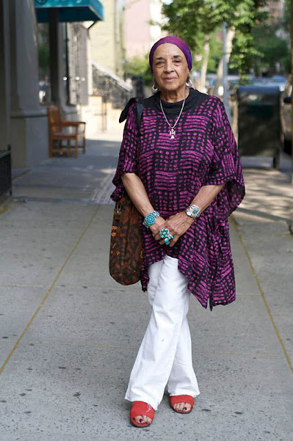Dia dos avós: a irreverencia da moda não tem  idade