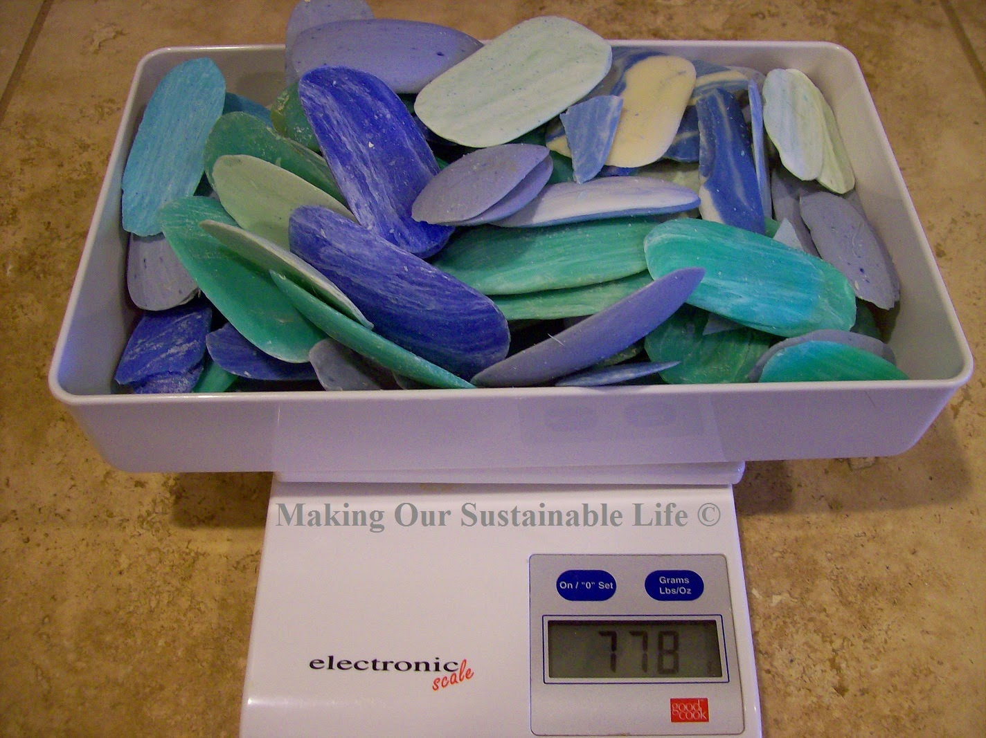 Rebatching Soap, shared by Making Our Sustainable Life