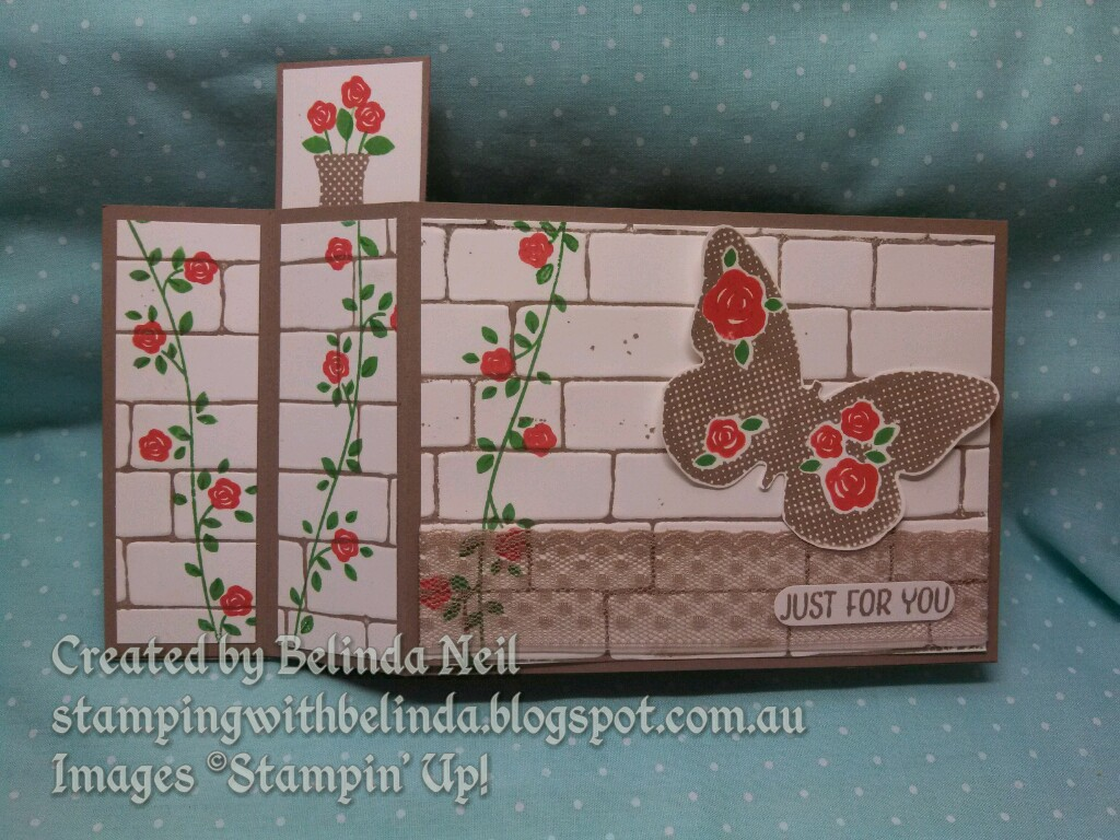 Stampin It Up With Belinda Wiper Cards Featuring Home