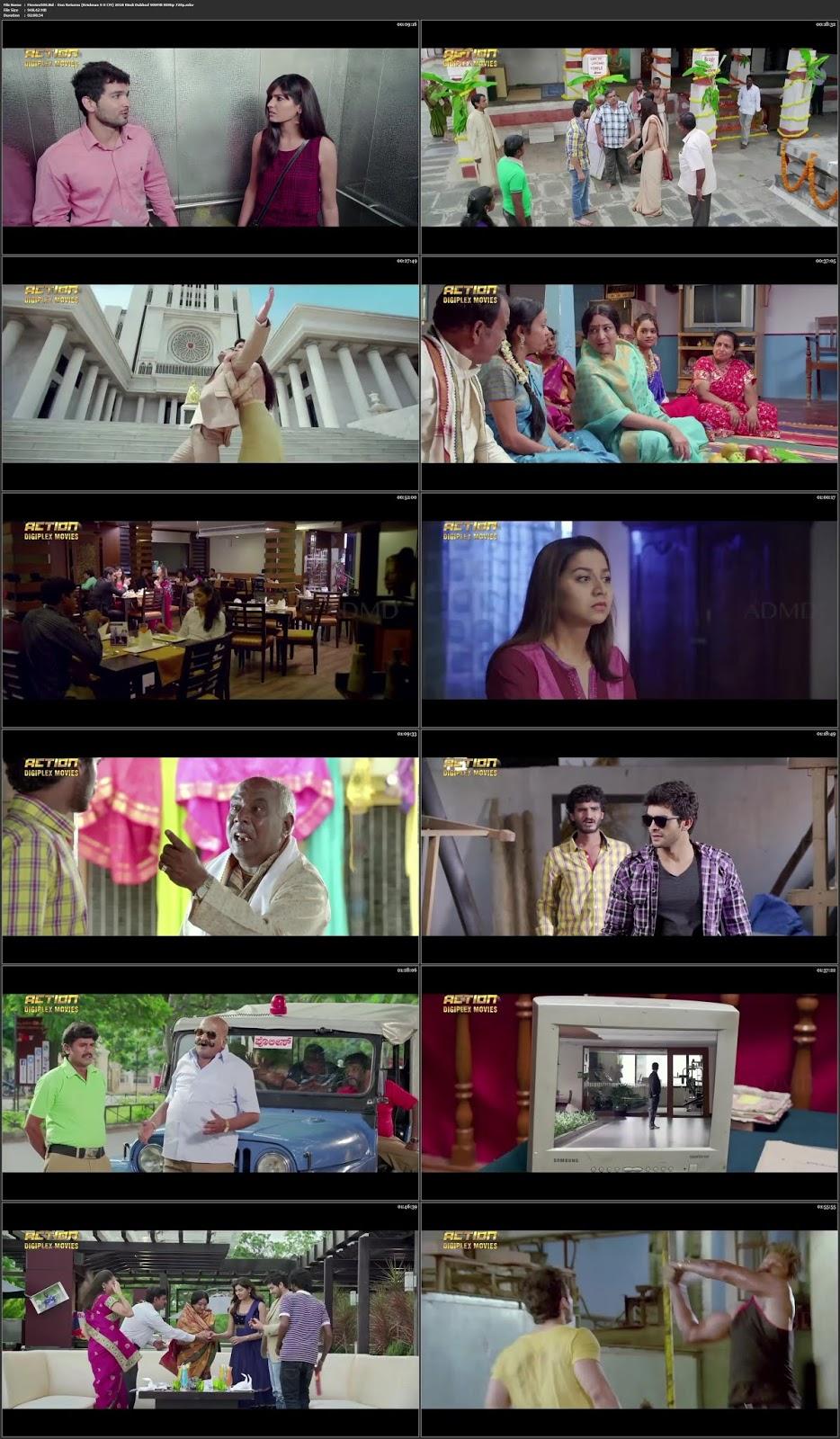 Don Returns (Krishnan S O CM) 2018 Hindi Dubbed 300MB HDRip 480p