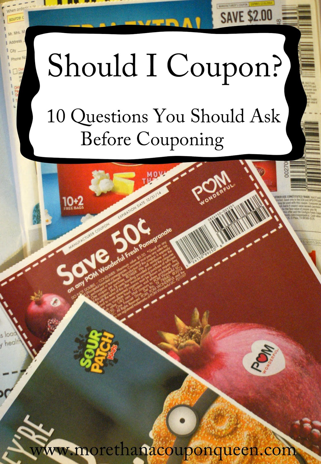 Should I coupon? 10 Questions You Should Ask Before Couponing