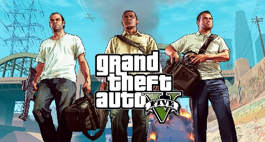 GTA V Introduce his three main characters