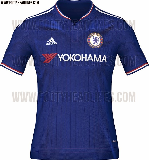 Jersi baru Chelsea musim 2015 16