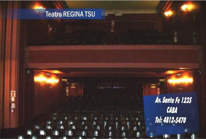 Sala - Teatro Regina Tsu