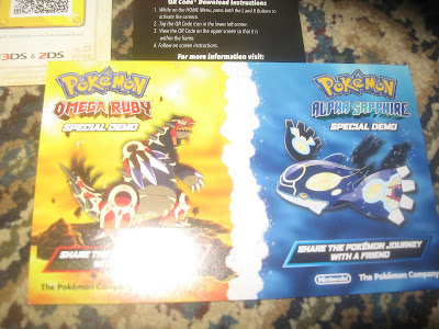 Pokémon Omega Ruby Alpha Sapphire special demo codes
