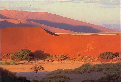Dünenlandschaft des Sossusvlei, Namibwüste in Namibia