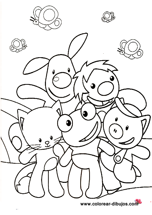 LAMINAS PARA COLOREAR - COLORING PAGES: El Sapo Pepe para dibujar y ...