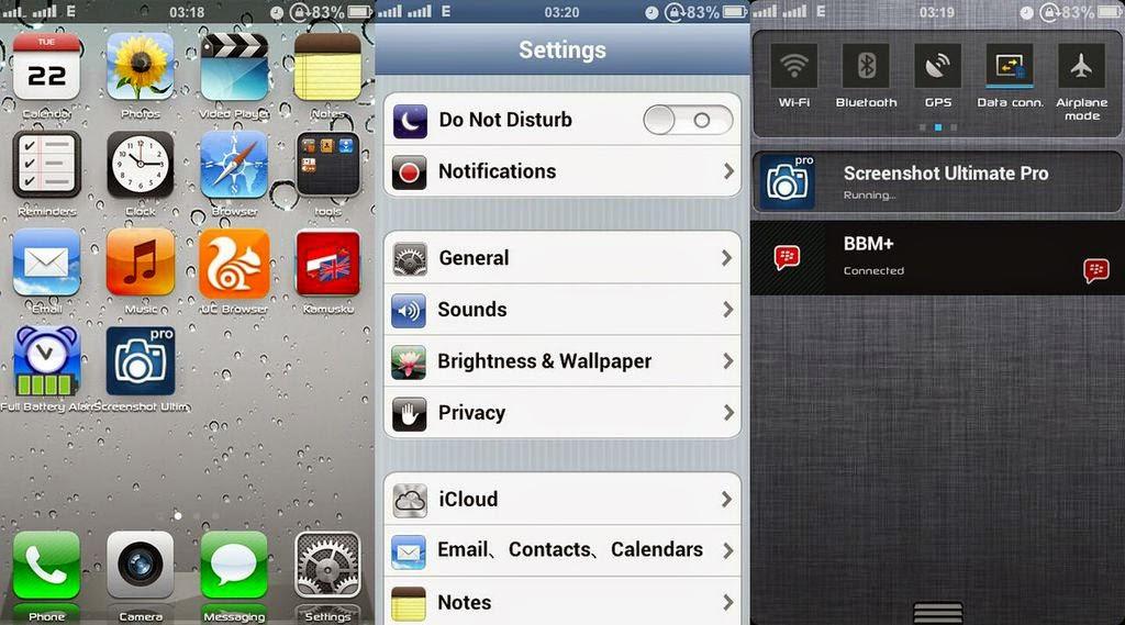 Install ROM iPhone 5 di Lenovo A390 | Rasa Baru!