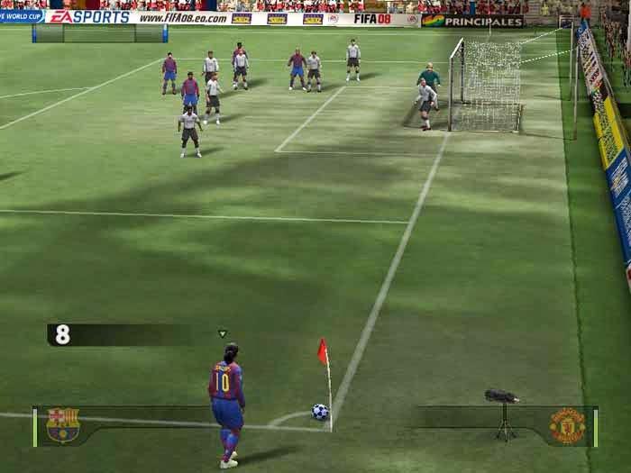 شرح تحميل وتتبيث لعبة FIFA 08 مضغوطة بحجم 580 MB