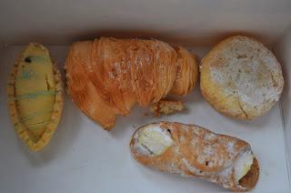 Italienske cannolis.