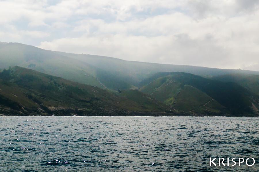 jaizkibel desde el mar