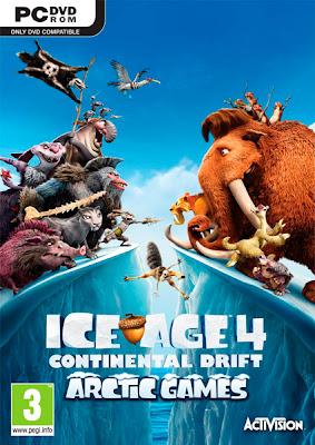 Ice Age Continental Drift Arctic Games [PCDVD][2012][Multi8 Spanish]