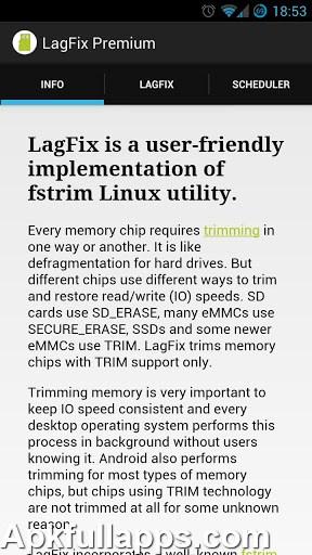 LagFix (fstrim) Premium v1.5