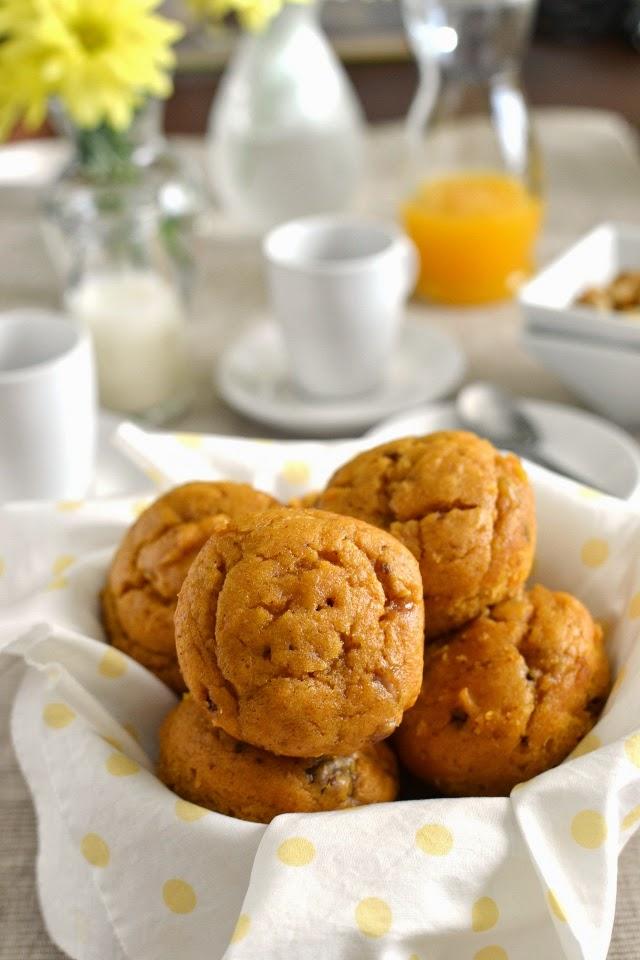 Pumpkin Cake Muffins (Eggless Recipe)