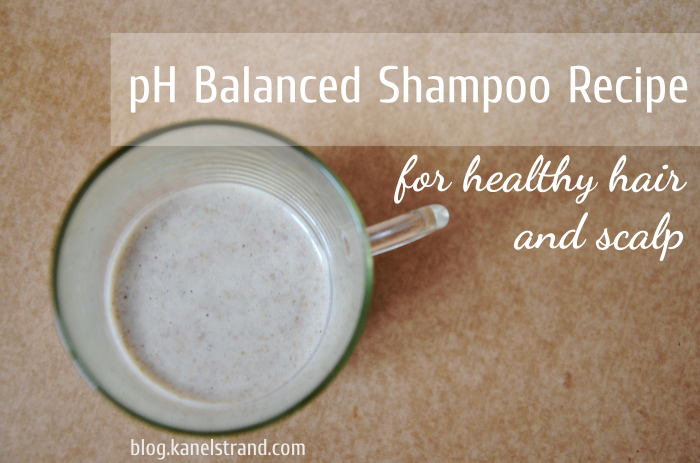 pH balanced shampoo for healthy hair and scalp