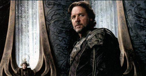 Russell Crowe es Jor-El, el padre kriptoniano de Superman