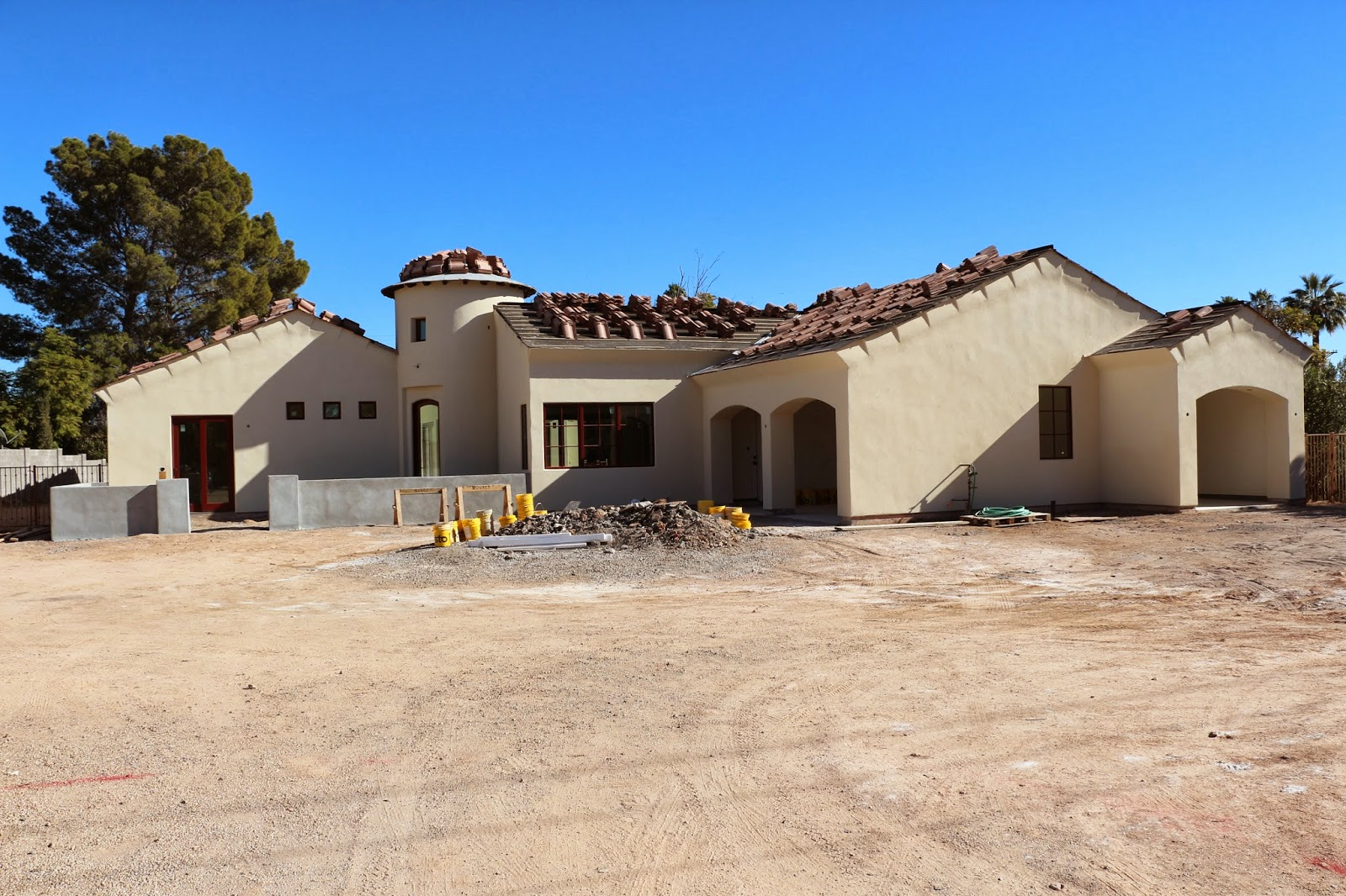 stucco, stucco with powerflex, stucco on house