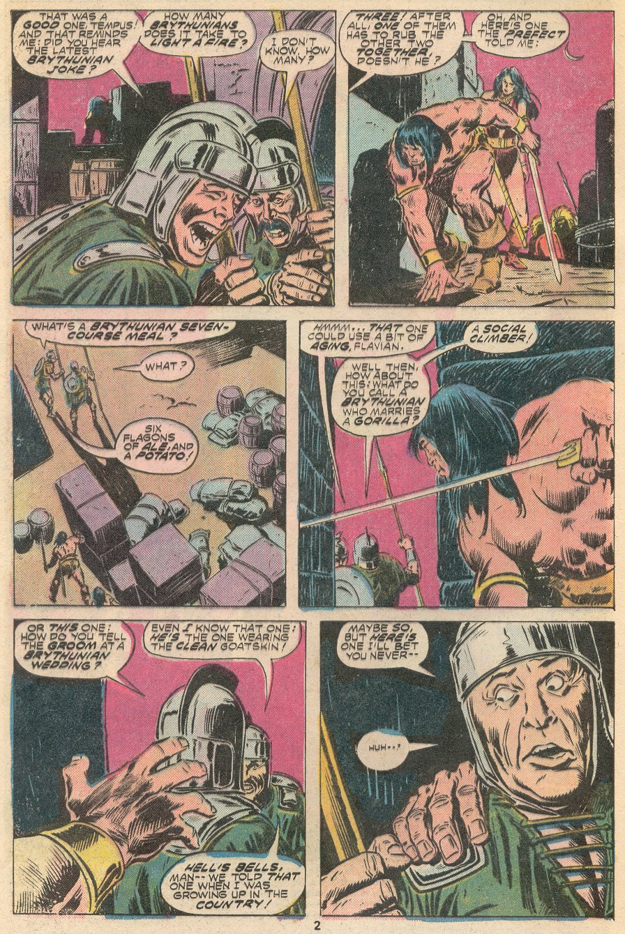 Conan the Barbarian (1970) Issue #66 #78 - English 3