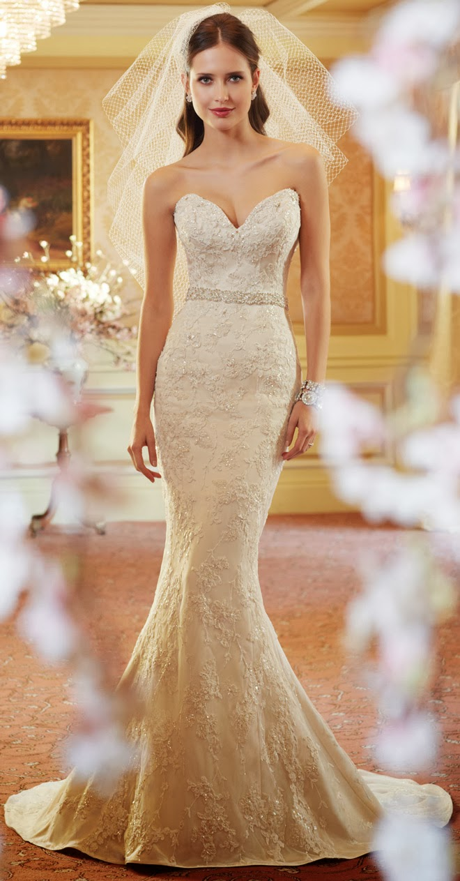 Sophie S Squishy Collection : Sophia Tolli Spring 2014 Bridal Collection - Belle The Magazine