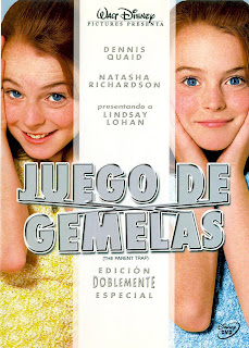 Ver online: Juego de Gemelas (Tu a Londres y yo a California / The Parent Trap) 1998