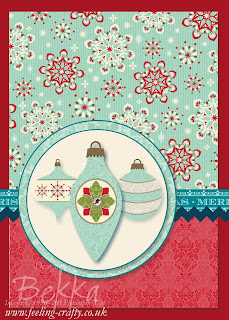 My quickest ever Christmas Card - thank you My Digital Studio / MDS - check it out here