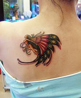 fairy tattoo design idea. Cute Fairy Tattoo Design
