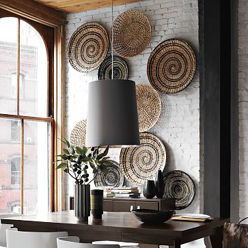 Best Contemporary Decorative Bowl Wall Art Via West Elm