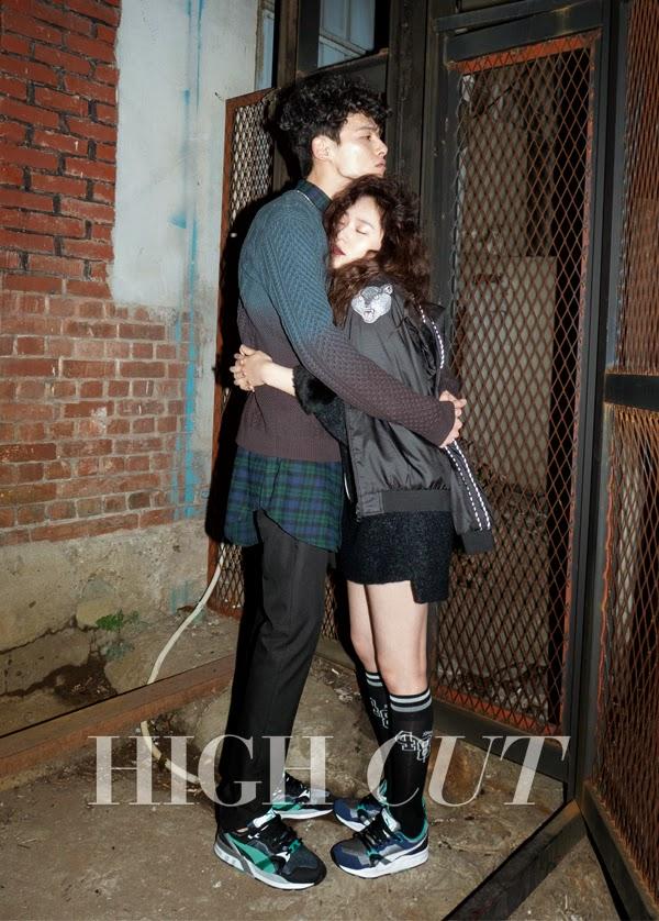Krystal f(x) and Kim Won Joong - High Cut Magazine Vol.138
