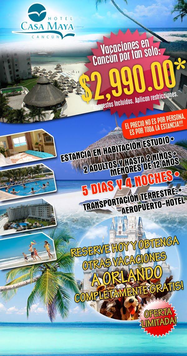 cupon oferta casa maya cancun