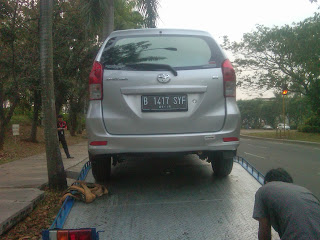 Pengiriman Avanza B 1417 SYF Jakarta ke Balikpapan