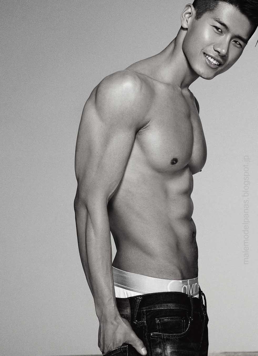 asian muscular men