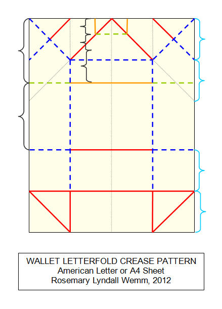 Ive Called This One The Wallet Letter Fold Because It Has Similarities To Of My Origami Wallets Unlike Real Does Not Have Sides