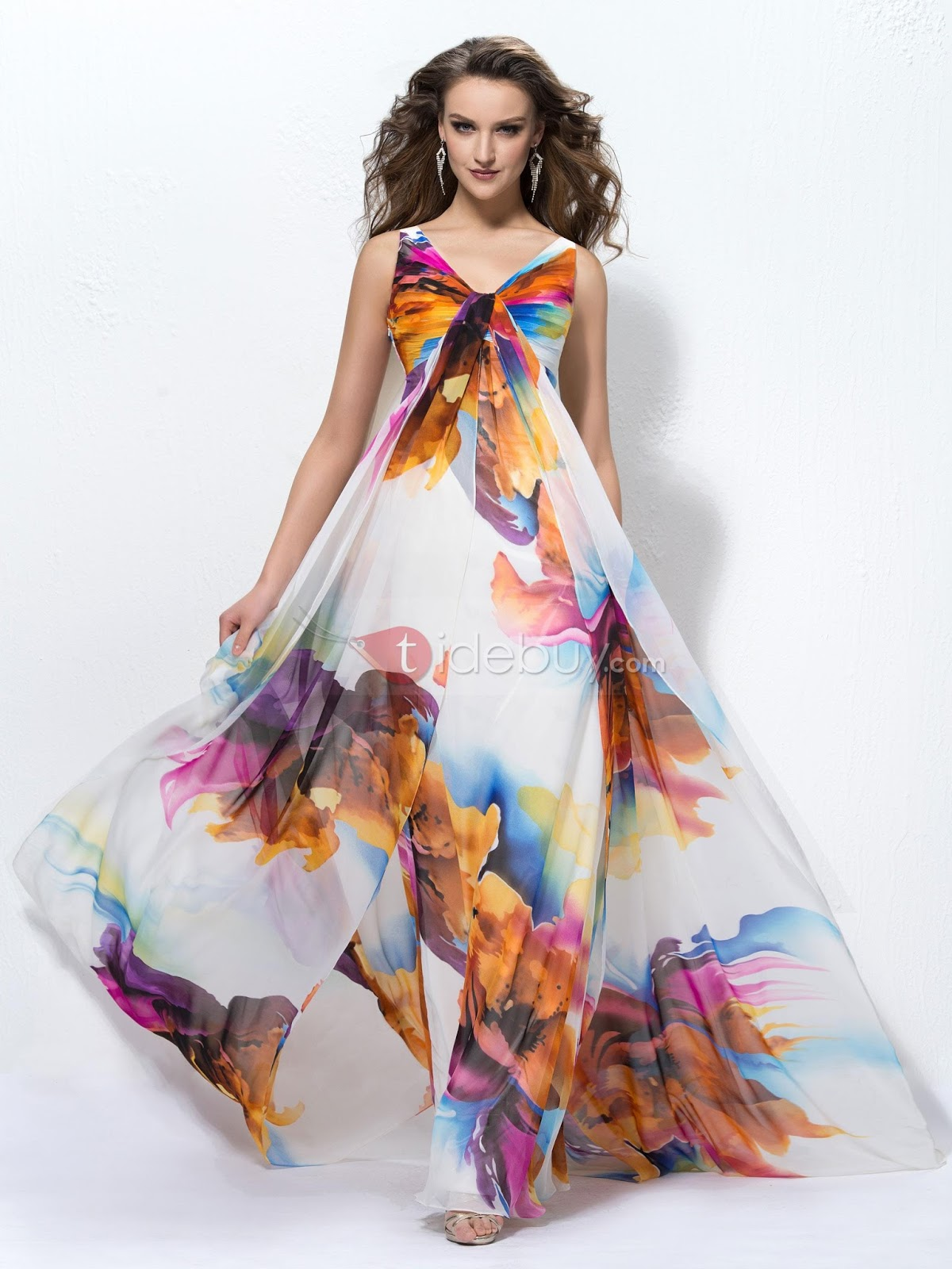 formal dress for apple shape
