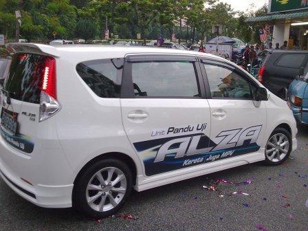 Pandu Uji Perodua Alza