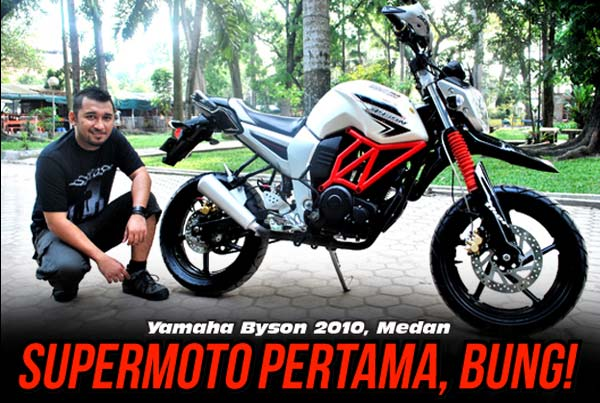 Modif Yamaha Bisoncom