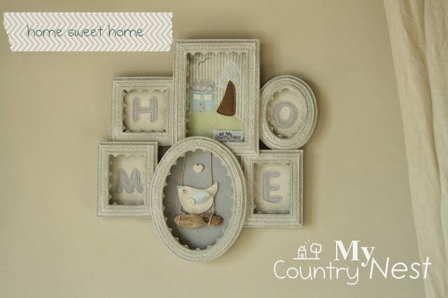 blog hand made My country Nest inspirujacy blog szyte ramki
