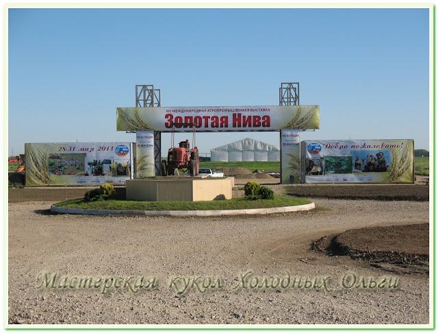 Международная агропромышленная выставка Золотая Нива 2013