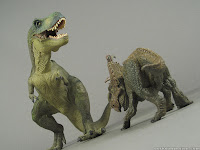 pachyrhinosaurus vs albertosaurus  Toy Review: Pachyrh...