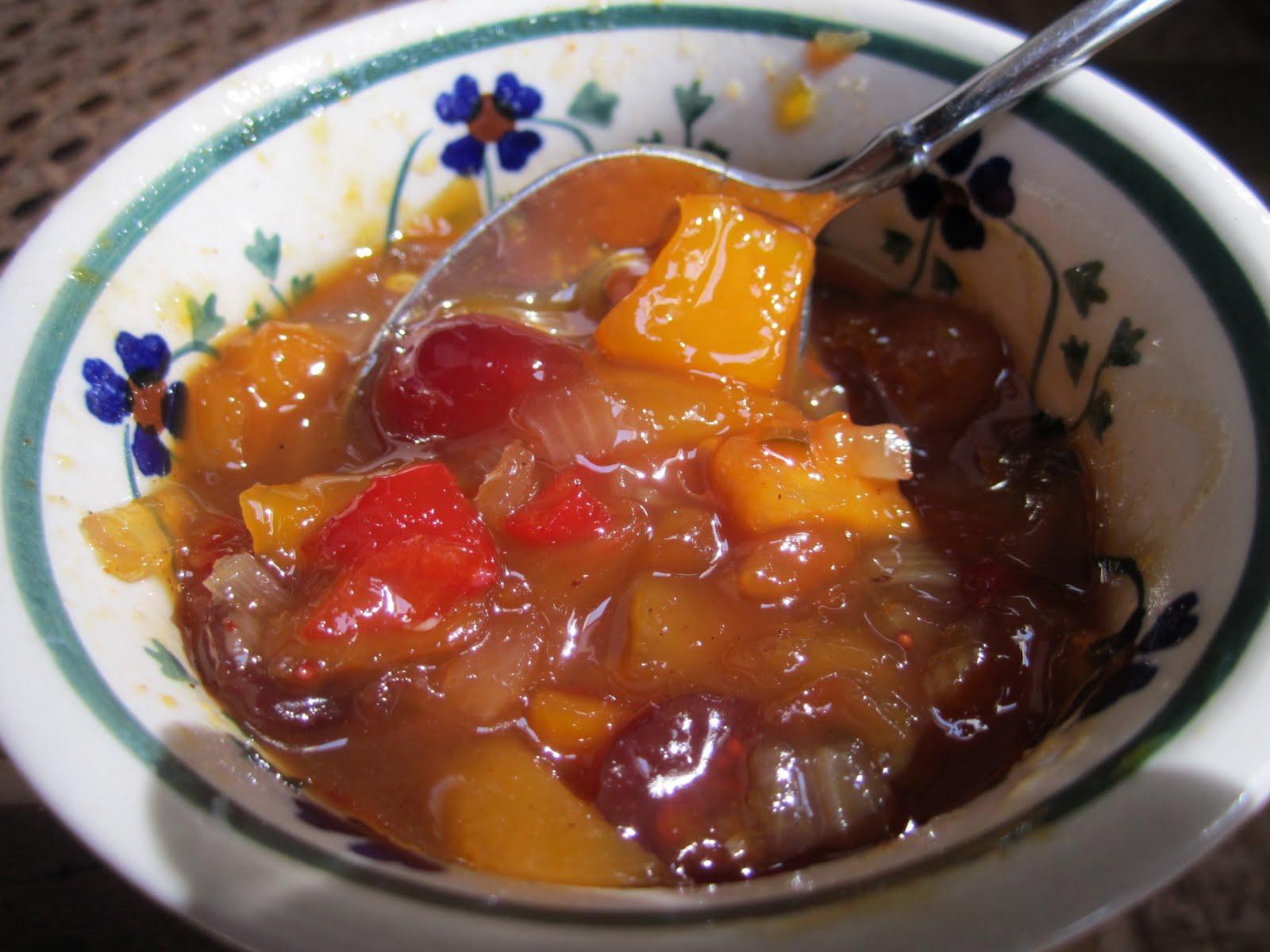 ... mango chutney chicken with mango chutney sauce british style patatas
