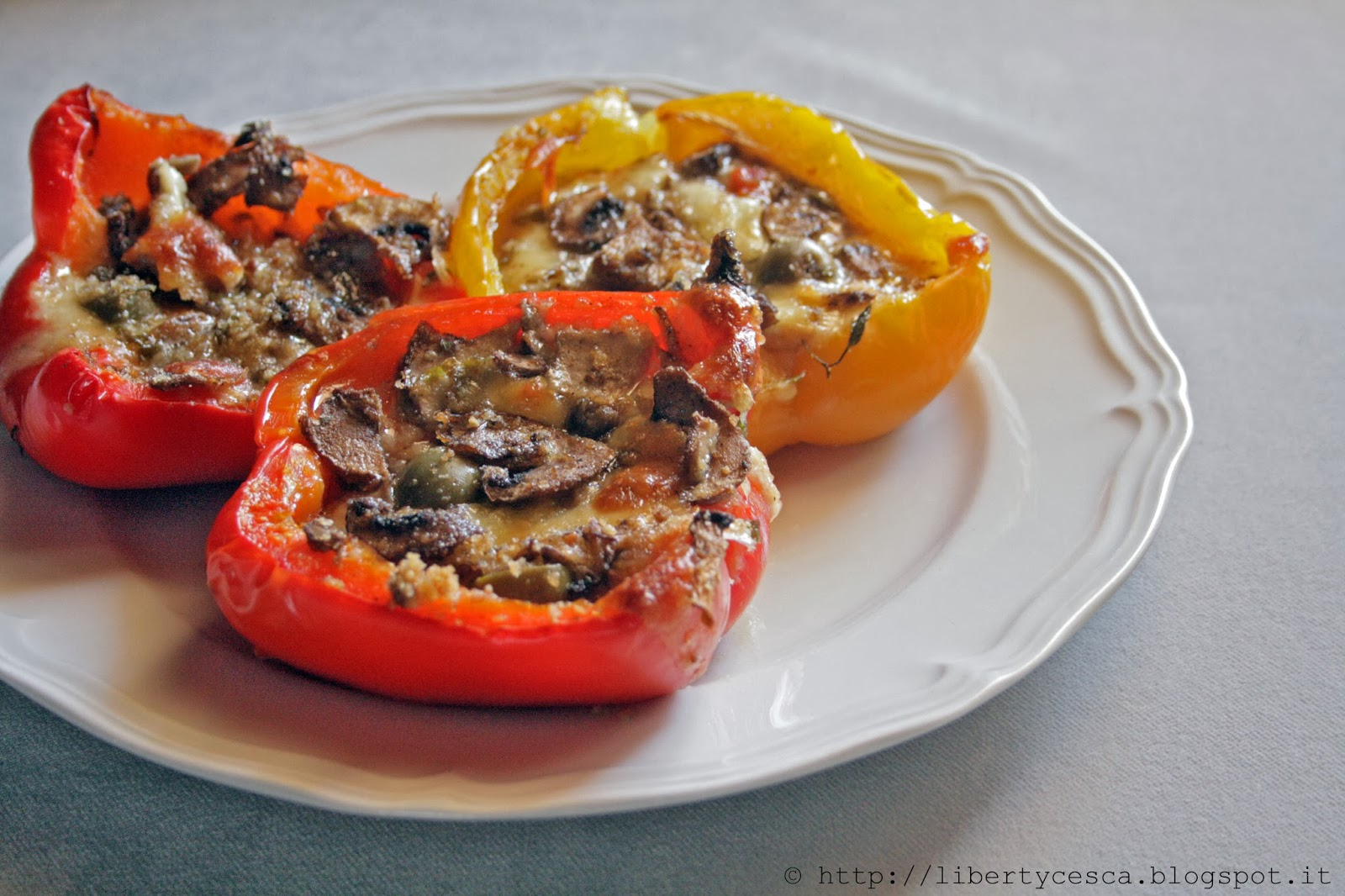 peperoni ripieni / stuffed peppers